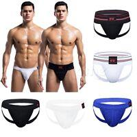 Men Athletic Supporter Jock Strap Sports Underwear Swimwear Boxers Briefs Shorts