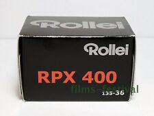 3 rolls Rollei RPX 400 35mm 36exp Black and White Film 135-36