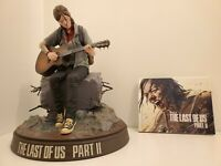 The Last Of Us Part 2 II Ellie Edition Statue & Art Book