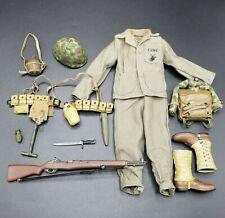 "1:6 Ultimate Soldier WWII US Marine Uniform Lot 12"" GI Joe Dragon BBI USMC"