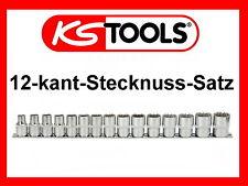 "KS TOOLS 1/2"" 12 kant Stecknuss Satz Vielzahn Nuss Steckschlüssel 15tlg 911.1285"
