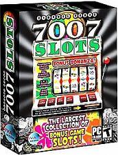 Video Game PC Virtual Vegas 7007 Slots Bonus Bonanza (PC, 2007) NEW Box