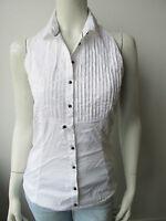 ★Guess★ Bluse Top Shirt Neu Weiss L