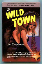 WILD TOWN by Jim Thompson - 1986 1st Printing, Fine Copy