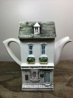 Ceramic Village Post Office Teapot Richard Parrington Designed by Hazle Boyles