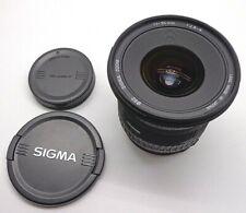 Sigma EX Aspherical HSM 17-35mm 1:2.8-4 HSM AF & MF Lens for Canon EF EOS DSLR