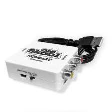 Old Skool HDMI to AV / RCA Adapter Converter For Older TV Sets