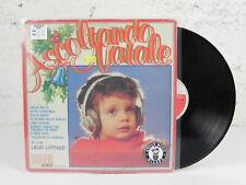 """ASCOLTANDO NATALE LELIO LUTTAZZI Canzoni di LP Vinile 33 Giri 12"""" Pollici Vinyl"""
