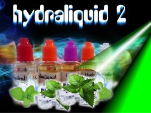 e liquide 5 x 30  ml   menthe ,tabac blond, tabac MLB,  tabac RY 5