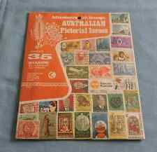 Vintage Adventures with Stamps Australian Pictorial Issues 35 Different Stamps