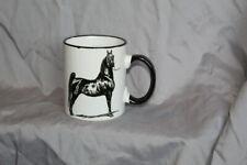 AMERICAN SADDLEBRED HORSE COFFEE MUG 11 ounce