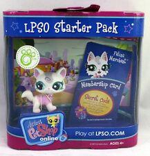 Littlest Pet Shop #1699 FELINA MURCHENT Cat LPSO Starter Pack