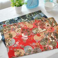 Tapis Table Vaisselle Pads Mats Tissu Repas Repas Style Japonais Sushi Napperon