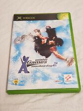 Xbox: Winter X-Games Snowboarding 2 - XBOX Classic Microsoft Spiel OVP - PAL