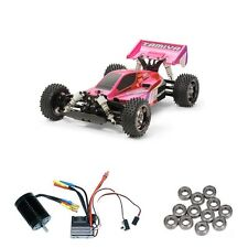 Tamiya Neo Scorcher - TT02B Bright Pink Metallic Brushless-Edition - 300084387BL