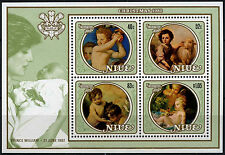 Niue 1982 SG#MS473 Christmas Paintings MNH M/S #D38009