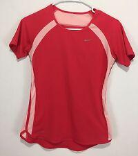 Nike Dri Fit Women's XS Shirt Pink Running Unique Rare Excellent Condition