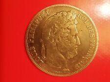 1 pièce de 5 Francs en Argent 1840A Louis-Philippe1 Tete Laurée