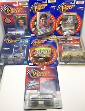 Lot of 7 Winner's Circle Jeff Gordon NASCAR Race Cars -New- Hasbro