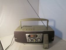 Sony CD Radio Cassette-corder w/ remote CFD-540CP Works Great