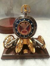 Franklin Mint Heroes of the Confederacy Pocket Watch, Stand and Display Globe