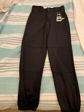 NEW w/Tags! Adidas Men's Large Baseball Softball Pants Black Climalite