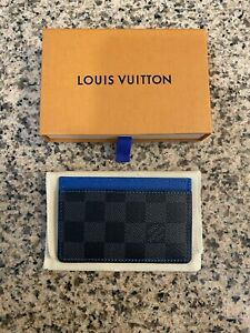 Louis Vuitton Card Holder Damier Graphite Canvas