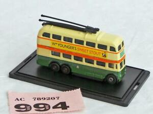 PP994 Oxford Diecast  NQ1004 Trolleybus Glasgow Corporation NEW N gauge