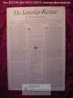 SATURDAY REVIEW August 16 1930 Lord Dunsany Andrew Corry Frederick E. Pierce