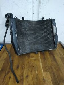Honda CBR600RR CBR600 Radiator with Fan and Cap 2007 to 2012