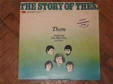 THEM FEATURING VAN MORRISON - THE STORY OF THEM - LC 50001 - 1977 - FIRST PRESS.