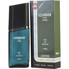 LOMANI POUR HOMME 100ml EDT SPRAY FOR MEN BY LOMANI ---------------- NEW PERFUME