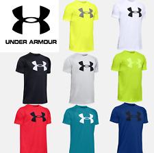 Under Armour UA Youth/Boys Big Logo T-Shirt Short Sleeve Logo Tee 1351850