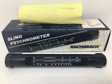 Bacharach Sling Psychrometer 12-7013, -5° Celsius to 50°C, 23°F - 122°F