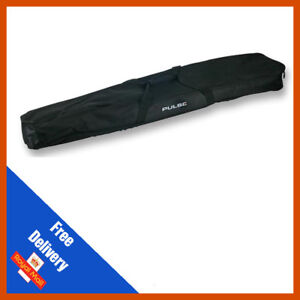 Microphone Mic Stand Carry Gig Case Bag | Room For Accessories
