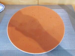 Teller  flach Terrakotta 28  cm Coup Fine Dining Seltmann Weiden Porzellan