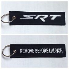 Dodge SRT Neon Hellcat  Keychain Remote Fob REMOVE BEFORE LAUNCH 2 Side Black