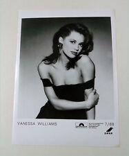 VANESSA WILLIAMS - D 1988 Polydor king-size FOTO press photo / Pressefoto