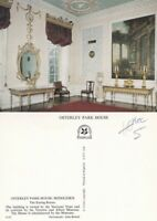 1980's THE EATING ROOM OSTERLEY PARK HOUSE HOUNSLOW MIDDLESEX COLOUR POSTCARD