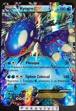 Carte Pokemon KYOGRE 54/160 Ultra Rare EX XY5 FR