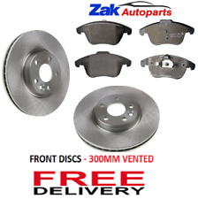 FITS RANGE ROVER EVOQUE 2011-2015 FRONT BRAKE DISCS AND PADS
