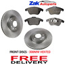 FITS RANGE ROVER EVOQUE 2011-2015 FRONT BRAKE DISCS & PADS SET *NEW*