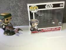 Funko Pop! Star Wars Pricess Leia with Speeder bike