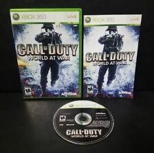 Call of Duty: World at War -- (Microsoft Xbox 360, 2010) Complete