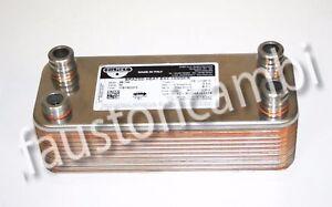 VAILLANT HEAT EXCHANGER 20 PLATES ART. 065153 BOILER VMW IT 242/2-5B R2 VMI