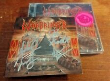 autographed signed  Warbringer Woe to the Vanquished cd