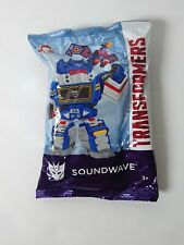 Wendy's Kids Meal Toys Hasbro Transformers SoundWave Figure