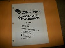 wheel horse AGRICULTURAL ATTACHMENTS   MANY MODELS  VINTAGE TRACTOR