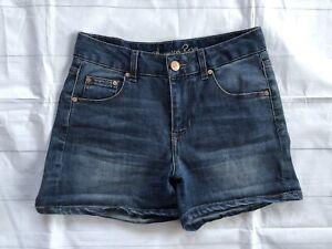 Women's American Rag High-Waisted Denim Blue Jean Shorts-3