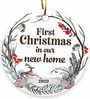 2020 Christmas Ornament, First Christmas in New Home,Christmas Ornament